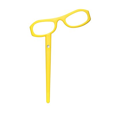 SEE MAGNET YELLOW READING GLASSES by See Concept