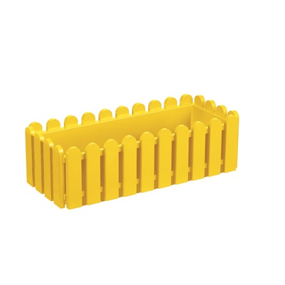 LANDHAUS ORIGINAL WINDOW BOX PLANTER in Yellow