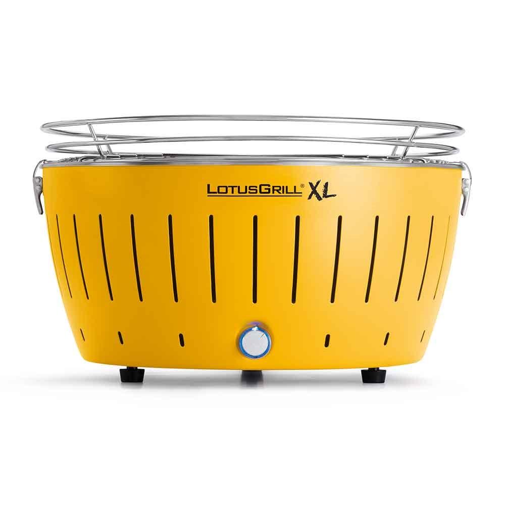 lotus bbq grill in corn yellow smokeless bbq 39 s cuckooland. Black Bedroom Furniture Sets. Home Design Ideas