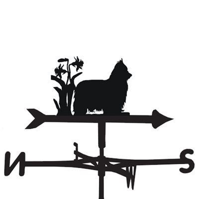 Weathervane in Yorkie Design