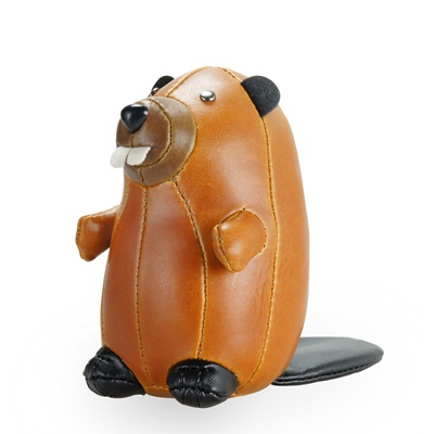 BEAVER Animal Paperweight by Zuny