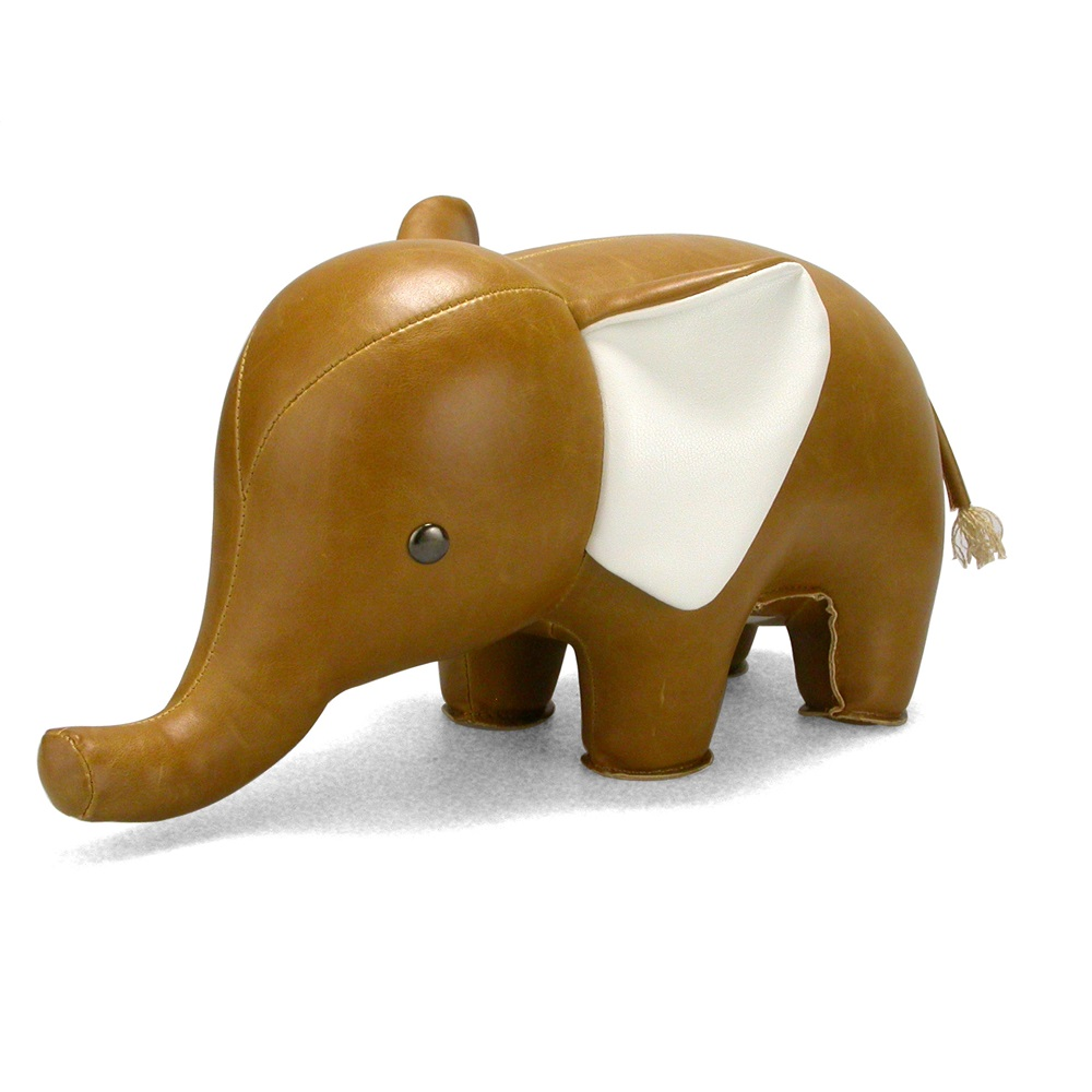 hippo animal bookend by zuny  unique bookends  cuckooland - elephant animal bookend by zuny