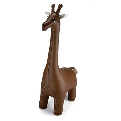 GIRAFFE Animal Bookend by Zuny