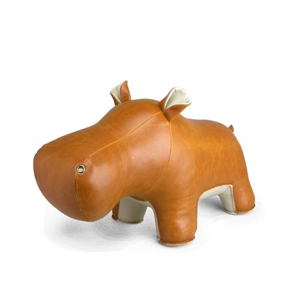 HIPPO BUDDY Animal Doorstop by Zuny