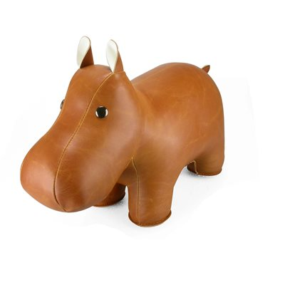 HIPPO Animal Doorstop by Zuny