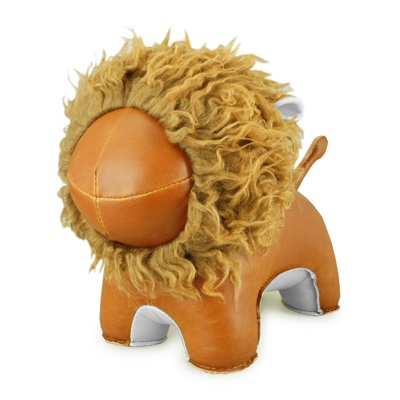 LION ABO Animal Bookend by Zuny