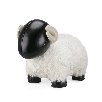 SHEEP BOMY Animal Bookend by Zuny