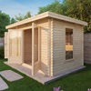 Luxury Log Cabin Kit from Mercia