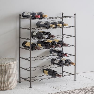 GARDEN TRADING FARRINGDON METAL WINE RACK