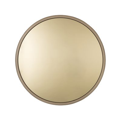 ZUIVER BANDIT ROUND WALL MIRROR in Gold