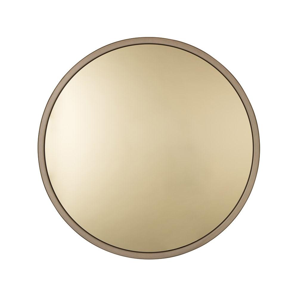 Zuiver Bandit Round Wall Mirror In Gold - Zuiver | Cuckooland