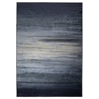 ZUIVER OBI WOVEN RUG in Blue
