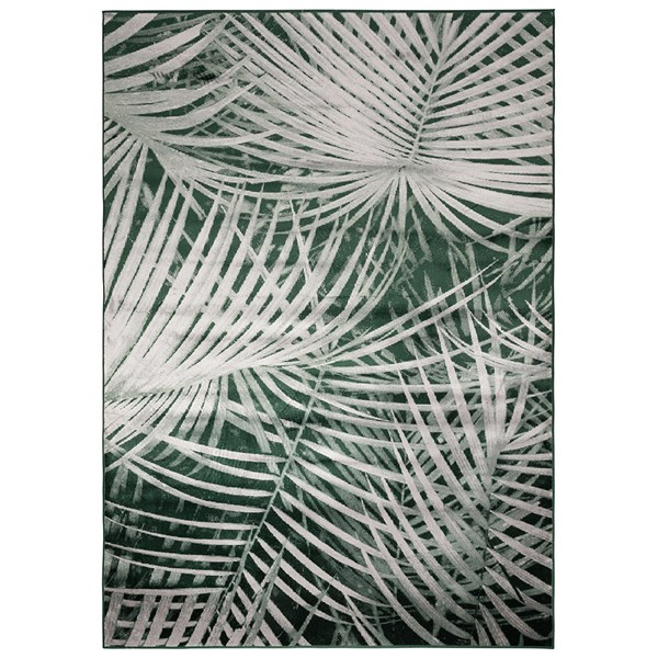 Zuiver Tropical Palm Leaf Print Rug by Day