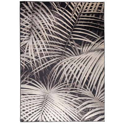 ZUIVER TROPICAL PALM LEAF PRINT RUG By Night