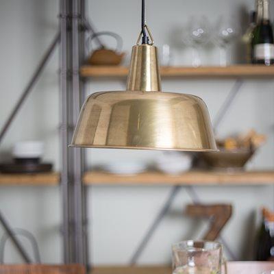 BRASS FREAK PENDANT LAMP