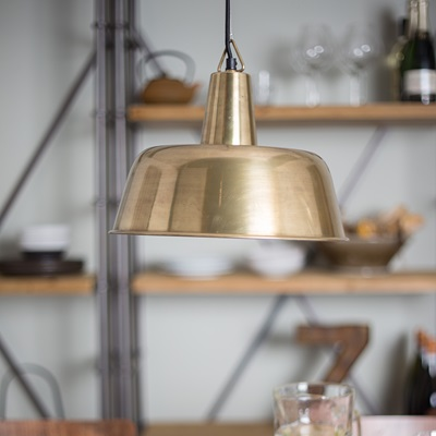BRASS FREAK PENDANT LAMP