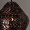 Designer Ceiling Light in Copper