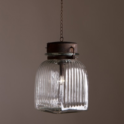 GABE PENDANT LAMP in Glass Design