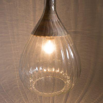 DROP PENDANT LAMP in Glass Design