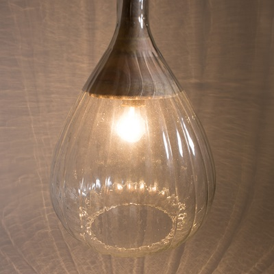 DROP PENDANT LAMP in Glass Design