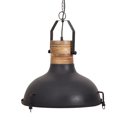 RAW PENDANT LAMP in Black