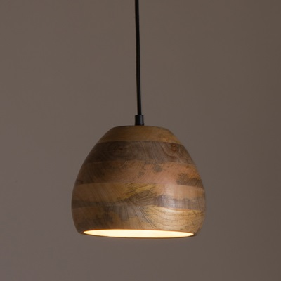 Dutchbone woody pendant lamp in mango wood dutchbone cuckooland