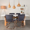 Scandi Inspired Dining Set from Zuiver