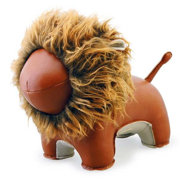 Lion Lino Animal Doorstop by Zuny