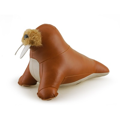 ZUNY Walrus Walu Bookend in Tan