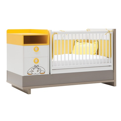 COT BED AND STORAGE in Zuzo Design