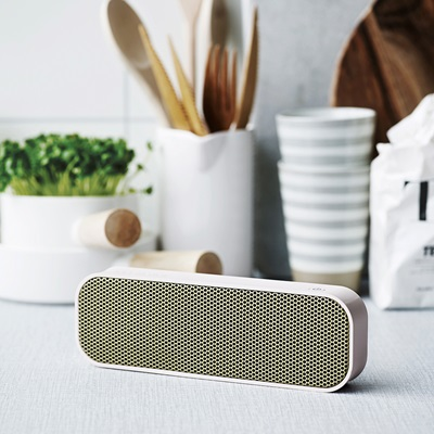 aGROOVE BLUETOOTH SPEAKER in Dusty Pink