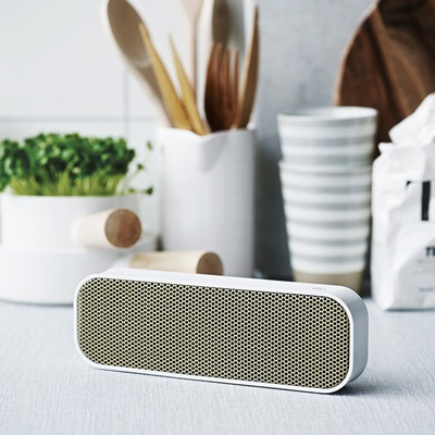 aGROOVE BLUETOOTH SPEAKER in White