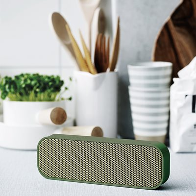 aGROOVE BLUETOOTH SPEAKER in Army Green