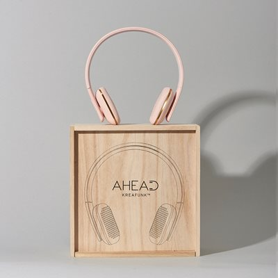 aHEAD BLUETOOTH HEADSET in Dusty Pink