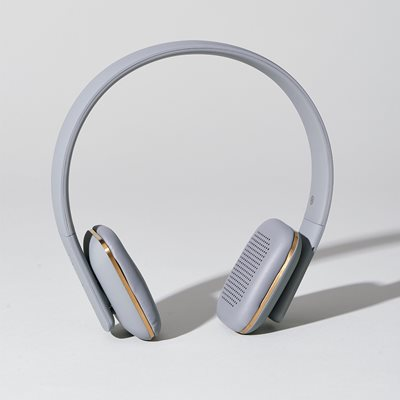 aHead Bluetooth Headphones in Cool Grey