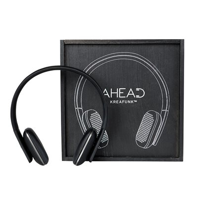 aHead Bluetooth Headphones Black Edition