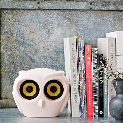 aOWL BLUETOOTH SPEAKER in Dusty Pink