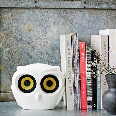 aOWL BLUETOOTH SPEAKER in White