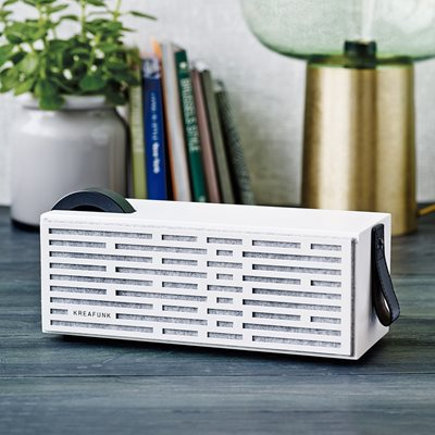 aPLAY BLUETOOTH SPEAKER in White