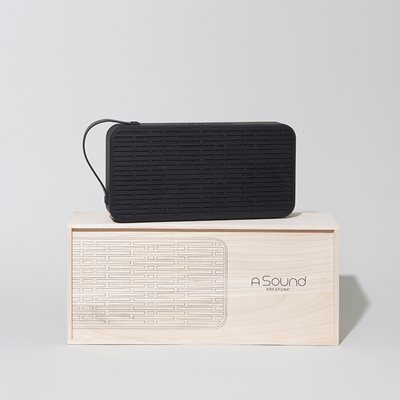 aSOUND BLUETOOTH SPEAKER in Black