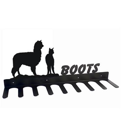 BOOT RACK in Alpaca Design
