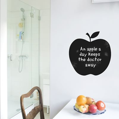 CHALKBOARD WALL STICKER in 'Apple' design