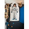 Snurk Bed Linen Set - Duvet and Pillow Set with Astronaut Design