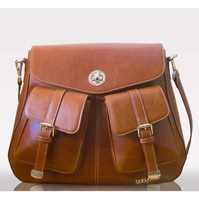 ATARAH SATCHEL CHANGING BAG in Tan