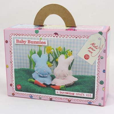 BUTTONBAG BABY BUNNY SEWING KIT