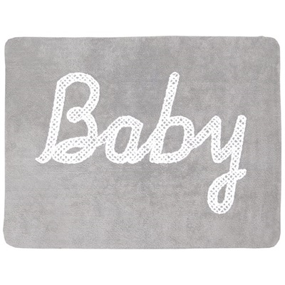 BABY Washable Rug in Grey