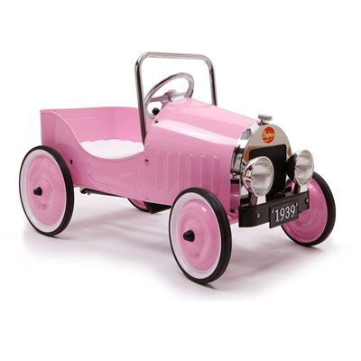 CLASSIC PINK PEDAL CAR by Baghera