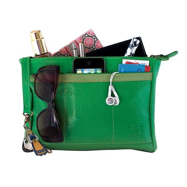 Handbag BagPod Organiser in Green