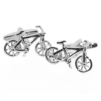 Mens Cufflinks in Bicycle Design
