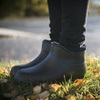 Ankle Wellington Boots in Black